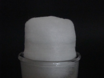 Cotton plug